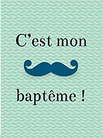 Bapteme bebe faire-part
