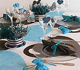 Bapteme-bebe-theme-decoration-fille-chocolat-turquoise