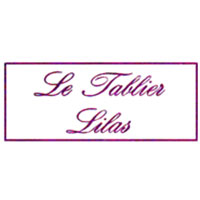 Le tablier lilas bapteme bebe vetements