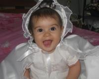 Tenue de baptême fille
