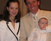 Tenue de baptême de Solène