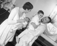 Tenue de baptême fille et garçon