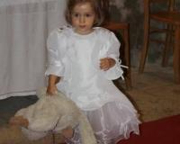 Tenue de baptême de Savannah le 22.09.2013