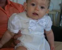 Tenue de baptême de Sohan le 28.07.2013