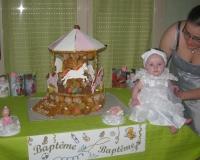 Pièce montée du baptême de Lorena