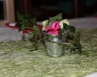 Décoration de table de baptême