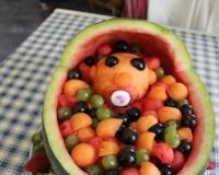 Pastèque de fruits