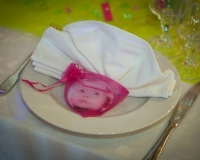 Cadeaux pour les invités du baptême d'Emeline le 07.09.201