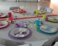 Décoration de table du baptêmeEzio et Ilhan3 17.08.13 Arc en ciel et gourmandise.jpg