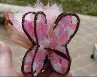 Dragées Papillon en tricot