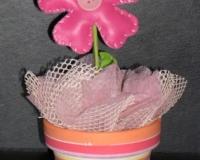 Dragées Pot de fleur